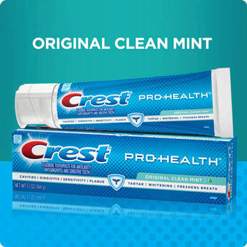 Crest Pro-Health Original Toothpaste - Clean Mint 5.1 oz