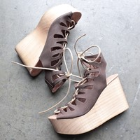 musse & cloud - oneka leather lace-up sandal