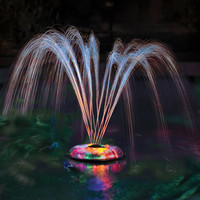The Floating Light And Water Show - Hammacher Schlemmer