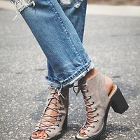 Jeffrey Campbell + Free People Womens Minimal Lace Up Heel