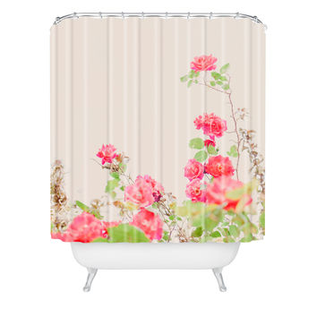 Hello Twiggs Vintage Wild Roses Shower Curtain