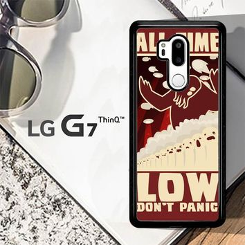 All Time Low Logo Y0296 LG G7 ThinQ Case