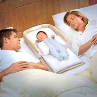Newborn Portable Foldable Baby Cradle Bed With Pillow Sleeping Bag Folding Bed