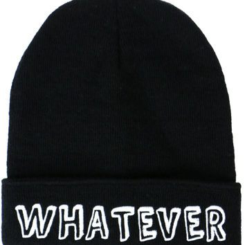 WHATEVER BEANIE - Default Title