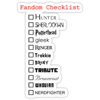 What's your fandom?