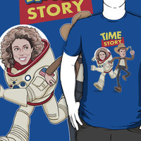 Time Story (Doctor Who / Toy Story) by James Hance