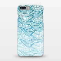 ArtsCase - Waves by Rose Halsey for iPhone 7 plus