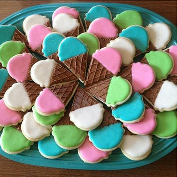 Ice Cream Cone Cookies (1 dozen)