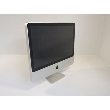 Apple iMac All In One 20 Inch Computer 500GB HD 2GHz Intel Core 2 Duo A1224 -- Used