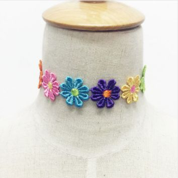 WM Flower power chocker
