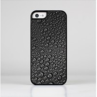 The Black Rain Drops Skin-Sert Case for the Apple iPhone 5c