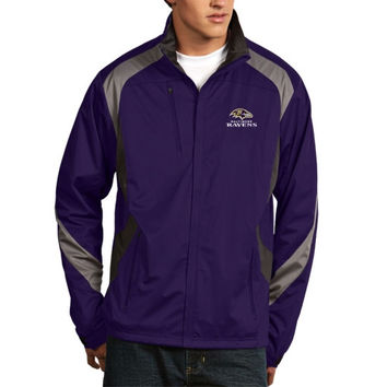 Baltimore Ravens Antigua Tempest Full Zip Jacket – Purple