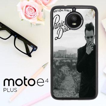 Panic At The Disco Album Cover F0590 Motorola Moto E4 Plus Case