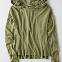 Don't Ask Why Plush Hoodie, Olive