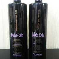 PHYTORELAX Multiple Oils Nourishing SHAMPOO & CONDITIONER 33.8 Oz Each