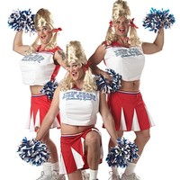 Varsity Cheerleader Man Costume - Adult Men Costumes at Oya Costumes