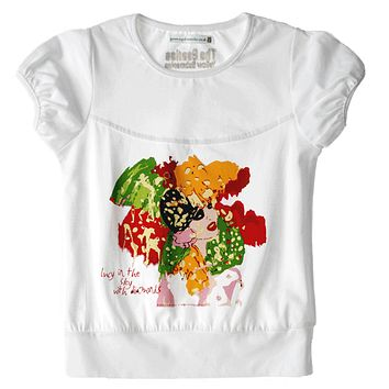 Lucy in the Sky with Diamonds Organic Girls Toddler Tee