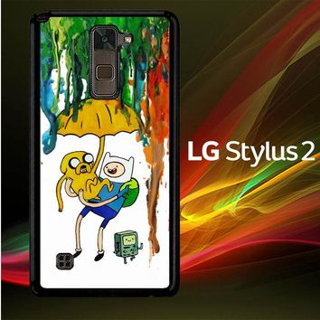 Adventure Time Painting F0254 LG Stylus 2 | LG Stylo 2 Case