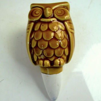 Vintage Owl Water Spike
