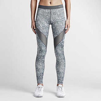 The Nike Legend Poly Drift Tight Women's Training Pants.