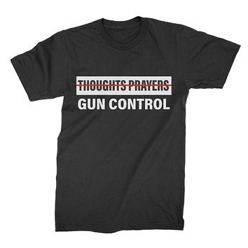 Anti NRA Shirt Gun Control Tshirt Gun Control Not Thoughts Prayers Protect Kids Not Guns Tee