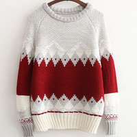Women's Fashion Pullover Knit Tops [9017746500]
