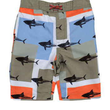 Appaman Grey Swim Trunks