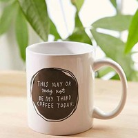 ADAMJK X UO Third Coffee Mug- Blue One