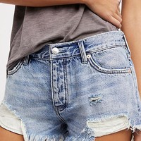 Free People Loving Good Vibrations Short