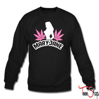 mary jane crewneck sweatshirt