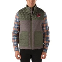 Vans Bridger Vest III (Frost Grey Heather/Army)
