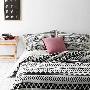 Allyson Johnson For Deny Geo Duvet Cover From Urban Outfitters