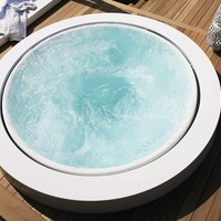 WHIRLPOOL BUILT-IN BATHTUB MINIPOOL | BUILT-IN BATHTUB | KOS BY ZUCCHETTI