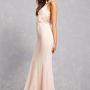 Lilibet Crochet Lace Gown