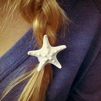 Knobby Sea Star Ponytail Holders