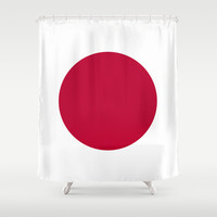 The national flag of Japan Shower Curtain by LonestarDesigns2020 - Flags Designs +