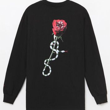 Diamond Supply Co OG Script Rose Long Sleeve at PacSun.com