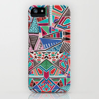 JAMBOREE M O T I F iPhone Case by Vasare Nar | Society6