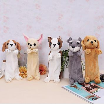 Cartoon Pencil Case Dog Pencilcase School Bts School Stationery Pencil Box Stationery Stationery Kawaii School-supplies
