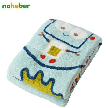 Super Soft Baby Fleece Blanket Boy Girl Infant Crib Bedding Baby Blanket for Baby Stroller Newborn Gift 78*100cm 3colors