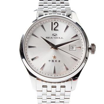 Sea-gull Special Limited Commemorative Edition 60th Anniversary of China First Automatic Dress Watch 3 Hands With Date 816.661