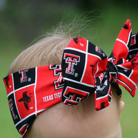 Red Raider Head Wrap
