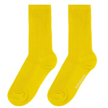 Essential Star Quality Socks | Neon Yellow