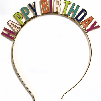 Happy Birthday Party Headband
