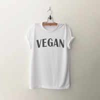 Vegan T-Shirt tee womens girls teens unisex grunge tumblr quote slogan instagram blogger punk hipster gifts merch