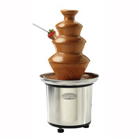 3-Tier Stainless Steel Chocolate Fondue Fountain