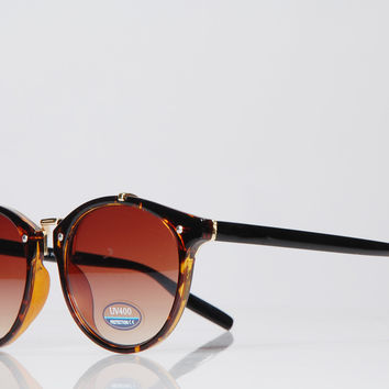 Space Sunglasses - Brown