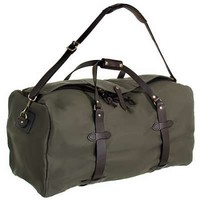 Filson Bags: Otter Green Oil Finish Large Duffle Bag 70223 OT