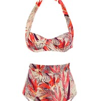 Kea Tropical Day High Waist Bikini