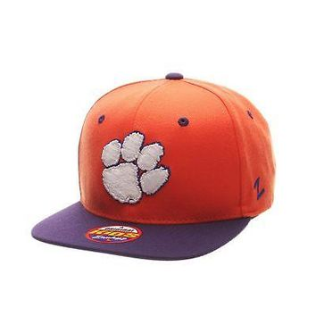Licensed Clemson Tigers Official NCAA Z11 Youth Adjustable Hat Cap by Zephyr 369623 KO_19_1